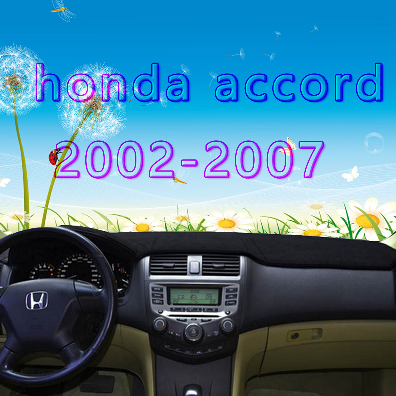 dashmats car-styling accessories dashboard <font><b>cover</b></font> for <font><b>honda</b></font> <font><b>accord</b></font> 2002 2003 2004 2005 2006 <font><b>2007</b></font> Seventh generation image