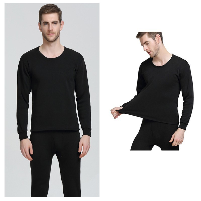 1284111f9a Engrossar térmica underwear masculino set homens inverno dos homens long  johns conjuntos de roupa interior homem thermo quente plus size M 4XL em  Long Johns ...