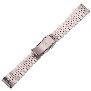 Image 3 - Stainless Steel Watch Bracelet Strap 20mm 22mm 24mm Women Men Silver Solid Metal Watchband Accessories
