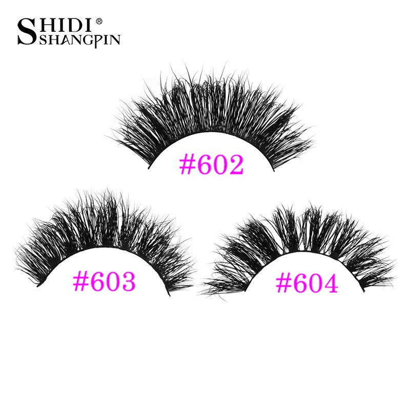 Thick 3d mink lashes false eyelashes natural long eye lashes volume mink eyelashes extensions handmade lash maquiagem faux cilis