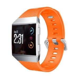 Image 2 - ZENHEO наручный ремешок для Fitbit ионизированный спортивный ТПУ силиконовый сменный ремешок на запястье для Fitbit ионизированные Ремешки для наручных часов