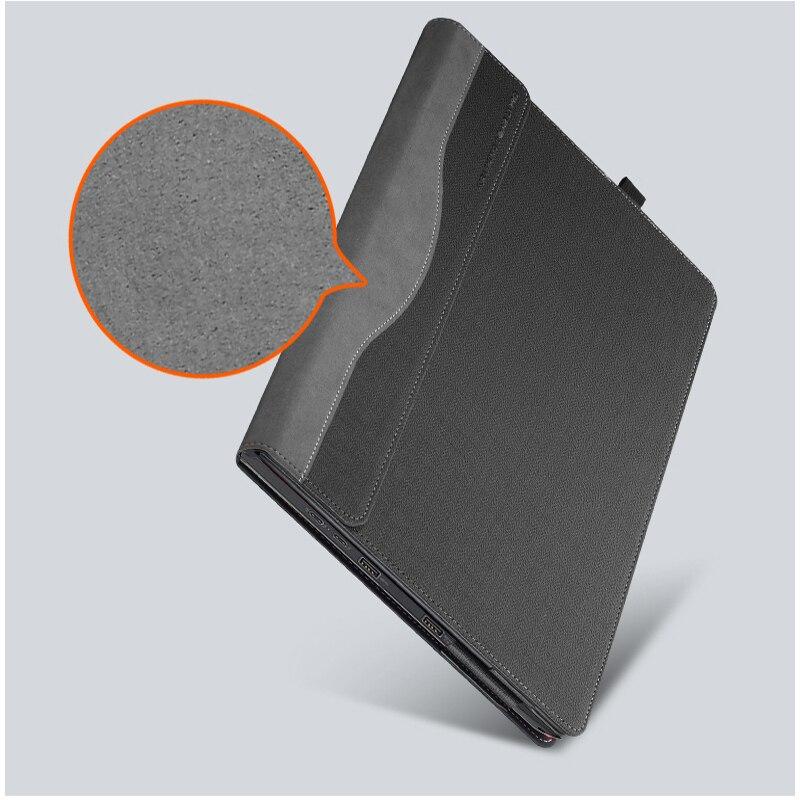 Housse détachable pour Lenovo ThinkPad X1 Yoga 2017 14 pouces pochette pour ordinateur portable sacoche pour ordinateur portable tablette PU cuir protection peau cadeau - 5