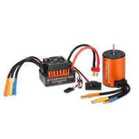 Waterproof 3650 3900KV Brushless Motor with 60A ESC Set For 1/10 Car Truck NO6b