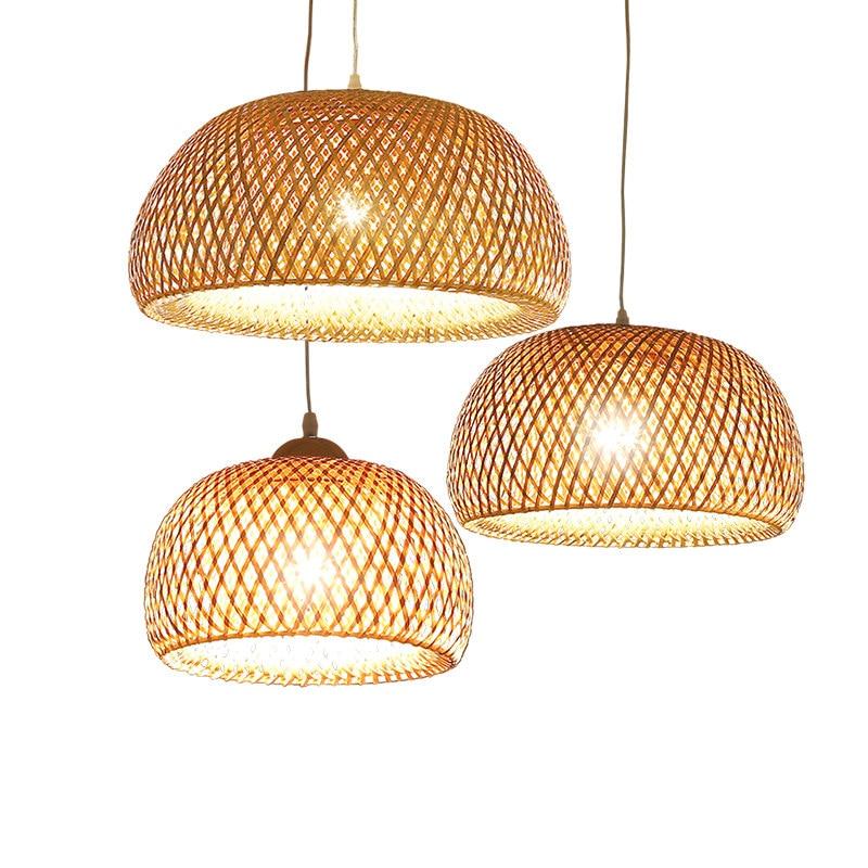 Bamboo Pendant Lamp Coolbluex