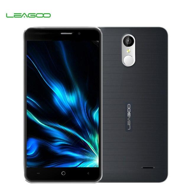 Оригинальный смартфон Leagoo M5 Plus 5,5-дюймовым дисплеем HD, Android 6.0, четырехядерный процессор MT6737, ОЗУ 2 Гб, постоянная память 16 Гб, 13 мегапикселей, мобильный телефон 4G LTE с отпечатком пальца