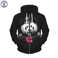 2017 Mr 1991INC Autumn Winter Fashion Fleece Zipper Hoodies Men Women 3d Sweatshirts With Cap Print