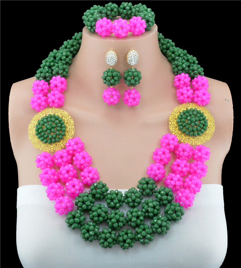2016 Latest Fashion Rose Green Crystal Skeleton Ball Costume Jewelry Sets Nigerian Wedding African Beads Jewelry Set2016 Latest Fashion Rose Green Crystal Skeleton Ball Costume Jewelry Sets Nigerian Wedding African Beads Jewelry Set