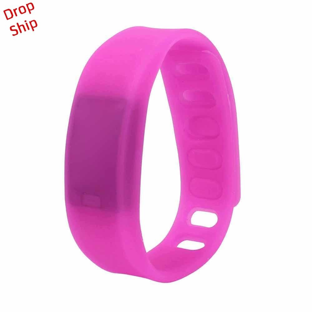 Stylowa hurtownia Mężczyźni Kobiety Relogio Rubber LED Watch Data - Męskie zegarki - Zdjęcie 4