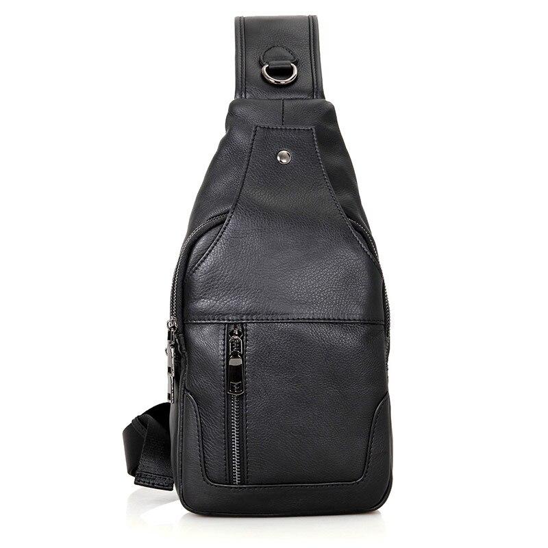 JMD Crossbody Bags for Men Messenger Chest Bag Pack Casual Bag Waterproof Leather Single Shoulder Strap Pack 2017 New Fashion