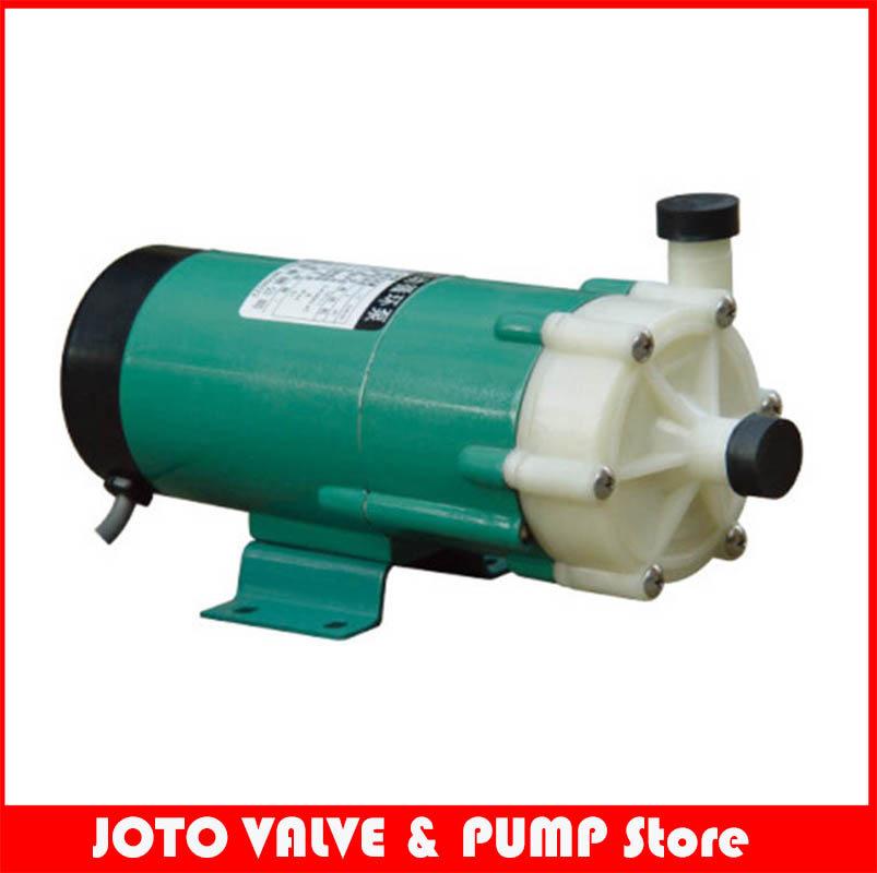 Plastic Magnetic Drive Acid Resistance Circulation Pump / Sea Water Pump/Centrifugal Water Pump 220V 60HZ цена и фото