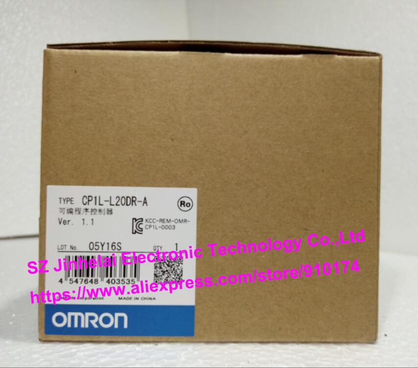 100% New and original  CP1L-L20DR-A  OMRON PLC CONTROLLER [zob] 100% new original omron omron proximity switch e2e x10d1 n 2m