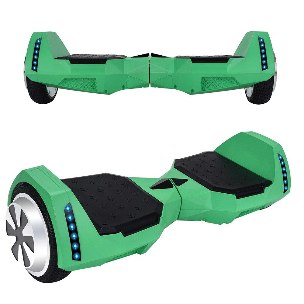 Электрический скейтборд 10 дюймов скутер двухколесный Smart балансировочный гироскутер с светодиодный Bluetooth Динамик удаленный контроль и сум... - 4