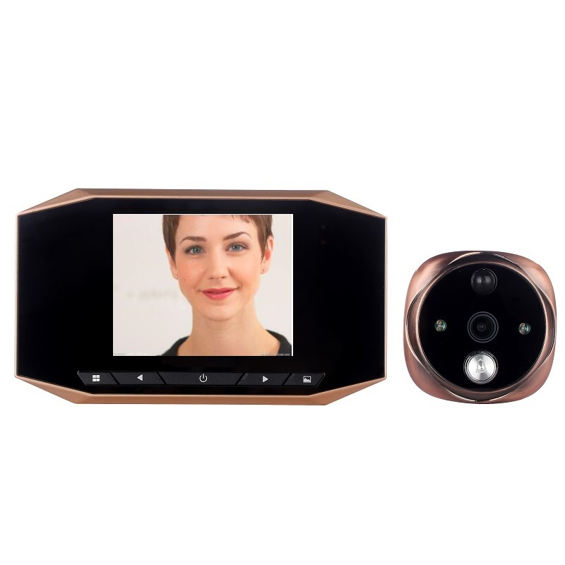 Hot door eye video call peephole camera 3.5 inch LCD PIR motion sensor 4X zoom IR Night vision Photos Take Video Record doorbellHot door eye video call peephole camera 3.5 inch LCD PIR motion sensor 4X zoom IR Night vision Photos Take Video Record doorbell