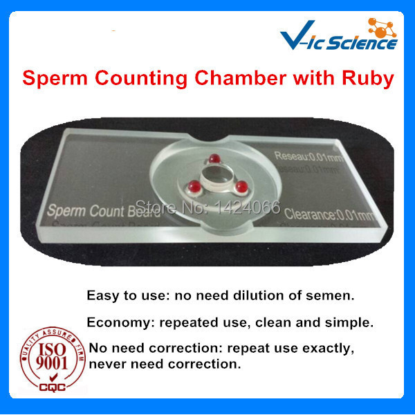 Sperm Quality Inspection Sperm Counting Slides With Ruby