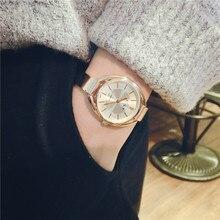 New Top Brand Watch Women Luxury Dress Full Steel Watches Fashion Casual  Ladies Quartz Watch Rose