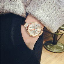 Attractive New Top Brand Watch Women Luxury Dress Full Steel Watches Fashion Casual  Ladies Quartz Watch Rose Gold Female Table Clock