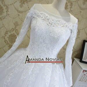 Image 2 - Amanda Novias High end Quality Custom Made Wedding Dresses 2018