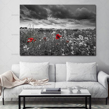 Canvas painting landscape Picture home decor  Wall art print flower canvas tree Pictures decoration for Living Room