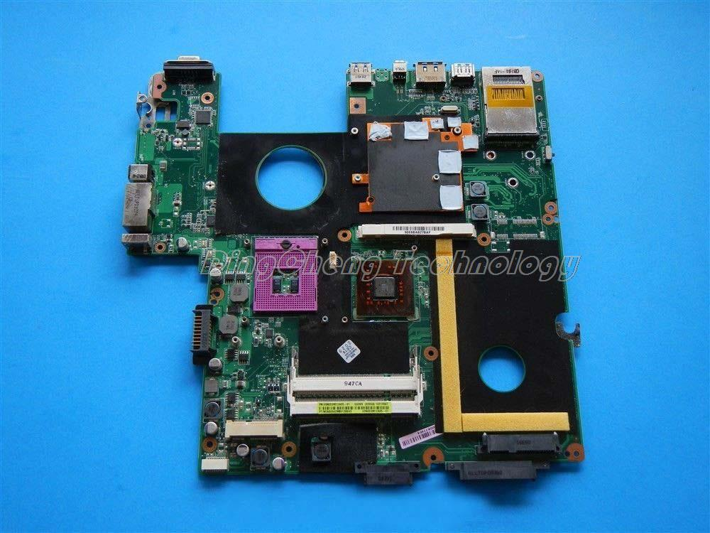 45 days Warranty  laptop Motherboard/mainboard for Asus G60VX 69N0EM12A05-01 non-integrated DDR2 100% tested Fully  for asus ux31a laptop motherboard ux31a2 rev4 1 2 0 mainboard with intel core i7 3537u 4gb fully tested 60 days warranty