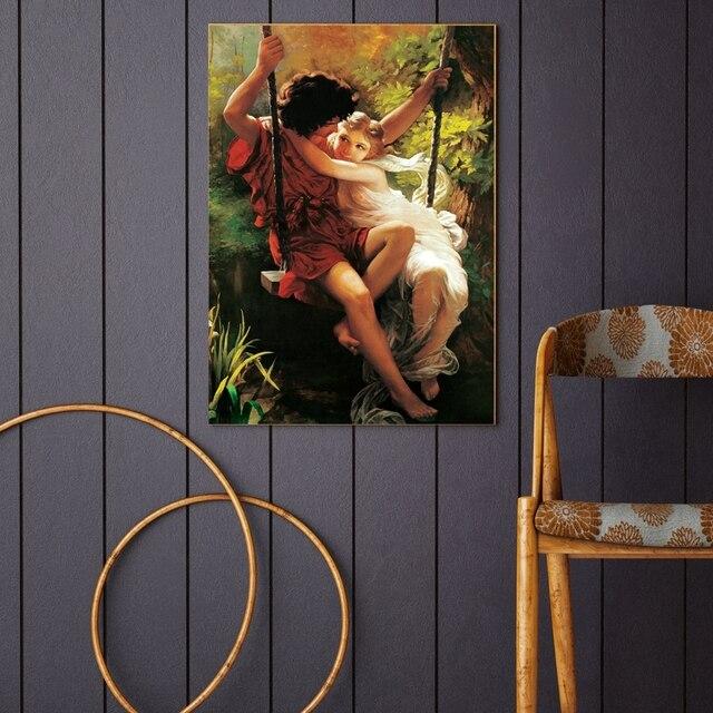 Greek Mythology Portrait Canvas Poster Mawgie