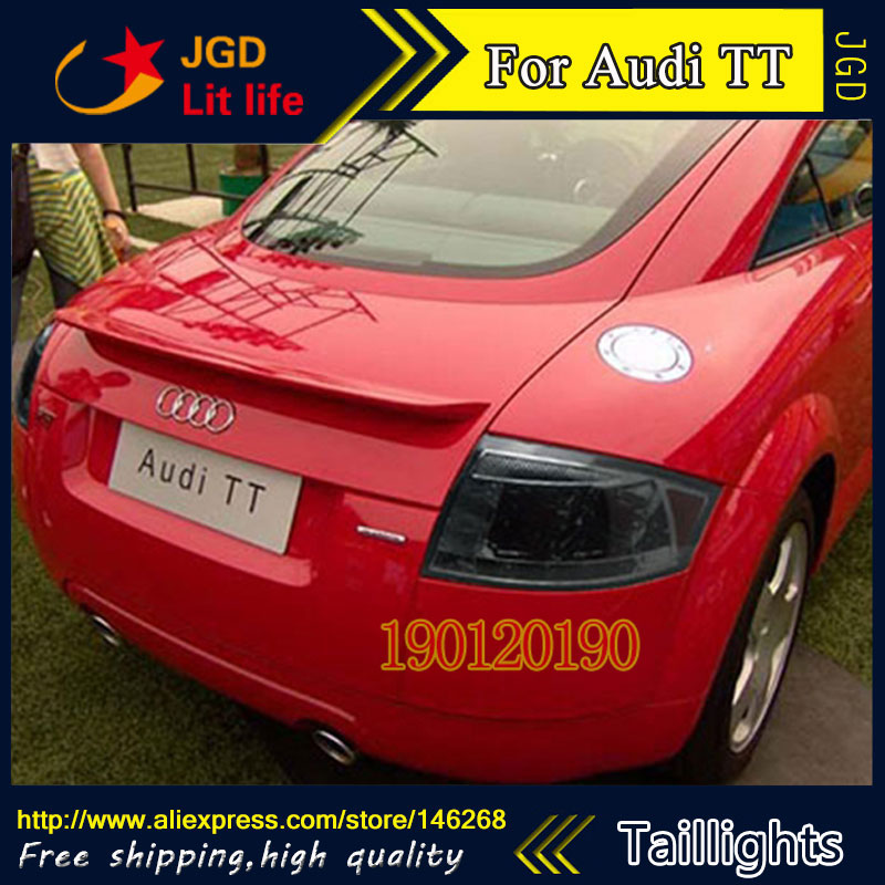 tail lights for Audi TT 1999 2005 LED taillight Tail Lamp rear trunk lamp cover drl+signal+brake+reverse