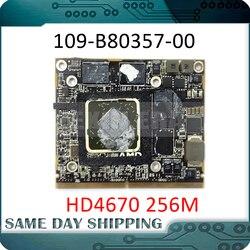 HD 4670 de 4670m HD4670 HD4670M 256MB tarjeta gráfica para iMac 2010 2009 A1312 A1311 109-B80357-00 tarjeta de Video VGA 216-0729051