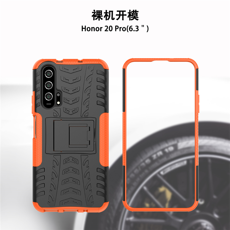 For Huawei Honor 20 Pro Case Heavy Duty Rubber Hard PC hone Case For Huawei Honor 20 Pro Cover for Honor 20 Pro Case Youthsay in Fitted Cases from Cellphones Telecommunications