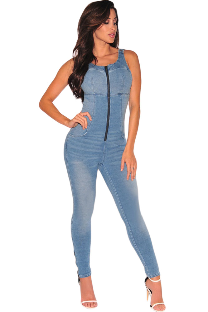 Popular Stretch Denim Jumpsuit-Buy Cheap Stretch Denim Jumpsuit ...