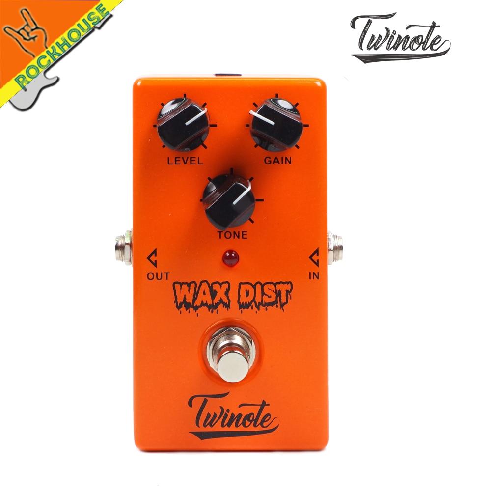 NUX Twinote britannique distorsion pédale analogique guitare Tube effets de distorsion pédale Crunch distorsion brun son livraison gratuite
