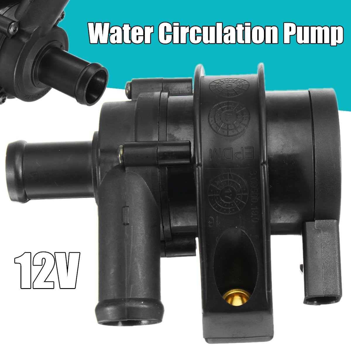 600L/H High Quality DC 12V Hot Water Circulation Pump Brushless Motor Water Pump New Arrival