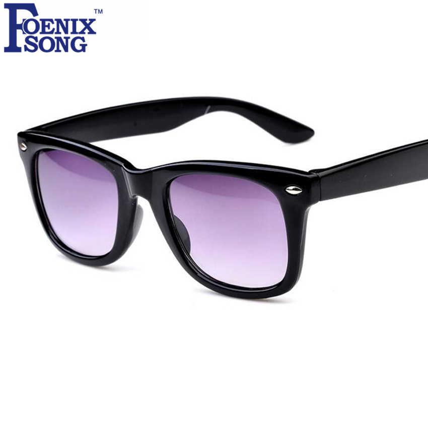 f480f1e1bd FOENIXSONG 2018 Fashion UV400 Protection Goggles Children Sunglasses Oculos  de sol Kids Boys Girls Sun Glasses