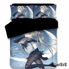 Mxdfafa Anime Sailor Moon quilt cover Set 3D Bedding Bag Luxury Duvet Cover Set 3pc Set Include 1 Duvet Cover and 2 Pillowcase cover set 3d