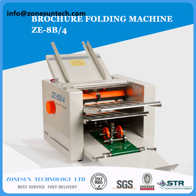 Pamphlet Brochure Folding Machinery Flangingautomatic Paper - Invoice folding machine