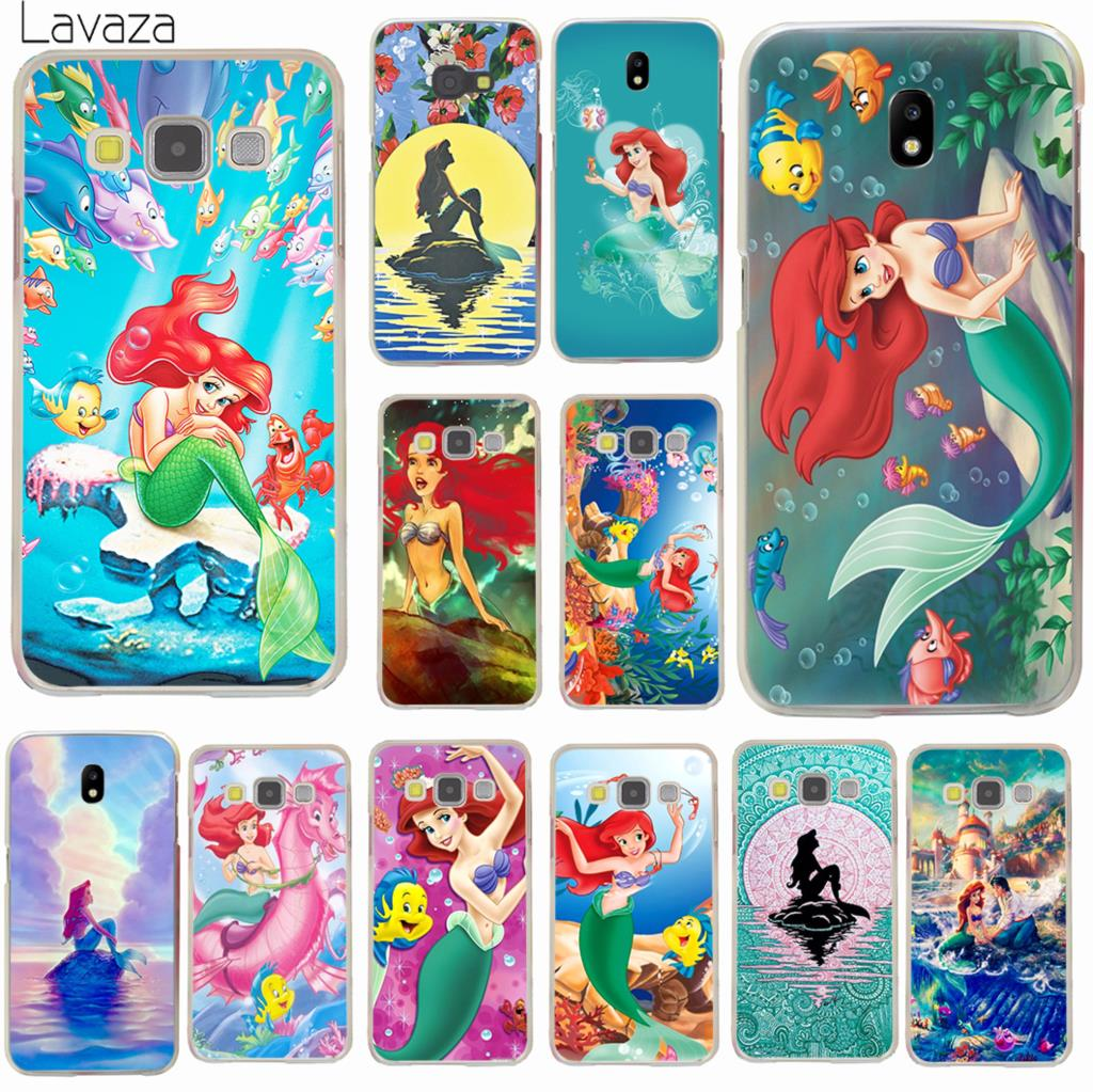 US $1 78 30% OFF|Lavaza The Little Mermaid Animation Hard Phone Case for  Samsung Galaxy J6 J3 J1 J2 J5 2015 2016 J5 Prime J7 2017 EU US Version-in