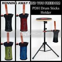 2016 New PDH Drum Stick Holder Bag 4 Colors Drumsticks Case Drummer Accessories