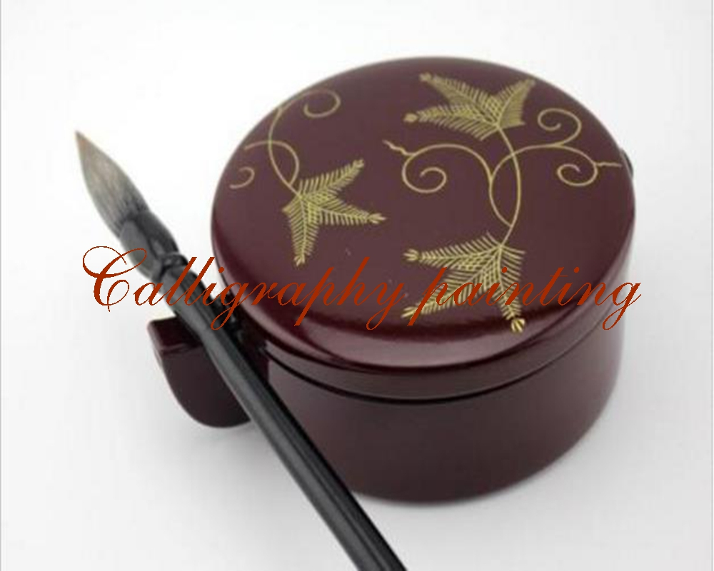 1pc Japanese Resin Ink Box Brush Rest Calligraphy Painting Sumi-e Tool