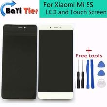 ЖК-ДИСПЛЕЙ Для Xiaomi Mi 5S ЖК-дисплей + Сенсорный Экран Замена Digitizer Высокое Качество для Mi5S 5.15 дюймов Смартфон Бесплатно доставка