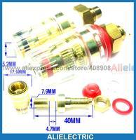 10 шт. зажим для усилителя динамика 4 мм разъем типа