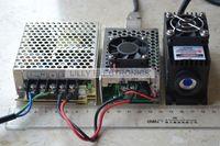 100 МВт 405nm фиолетовый лазер Dot Модуль TTL/аналоговый 0 30 кГц TEC охлаждения 85 265 В