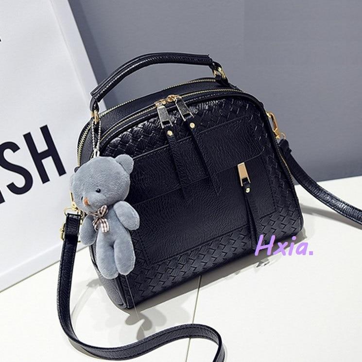 Yuhua, 2020 New Handbags, Korean Version Shoulder Bag, Large Capacity Woman Messenger Bag, Fashion Woven Handbag.
