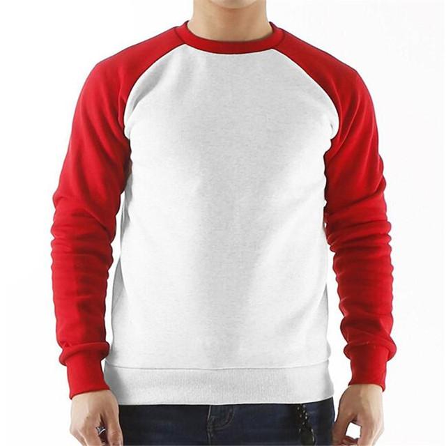 long raglan sleeve fleece hoodies sweatshirt men streetwear solid color 2018 autumn brand clothing tracksuit hoodie mens AE50