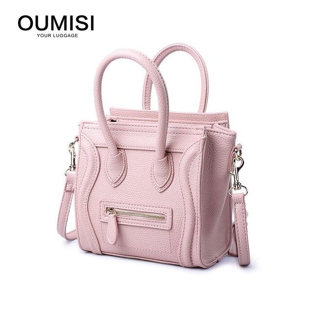 Women Bag Bow Handbag PU Leather Women s Shoulder Crossbody Bags Ladies  Small Handbags Purse Bags Bolso Pink Black 2ceb0145d222c