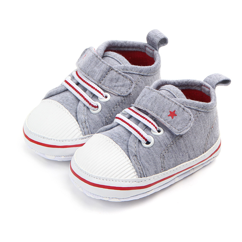 Baby Shoes For Newborn 2019 New Arrival Infant First Walkers Tollder Canvas Shoes Spring Baby Girls Boys Sneaker Prewalker 0-18M