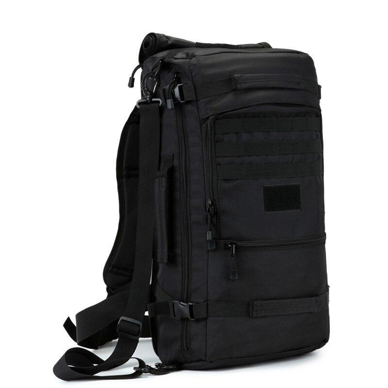 50 литров нейлон высокого качества водостойкая дорожная сумка лучший рюкзак мужской большой емкости случайный рюкзак женский склонны