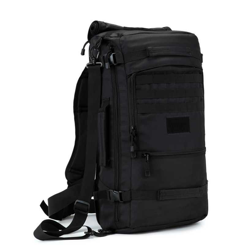 50 litres Nylon high grade wearproof Travel bag best backpack male large-capacity casual backpack female inclined shoulder