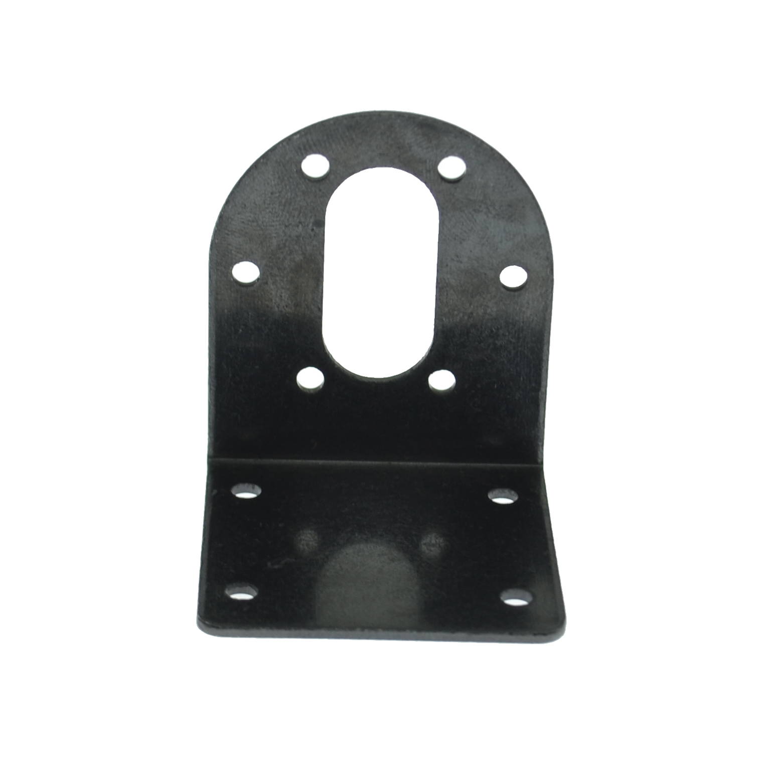 2PCS 37mm DC Geared Motor Mounting Bracket Holder 550 540 Black Metal L Shaped Mounting Bracket
