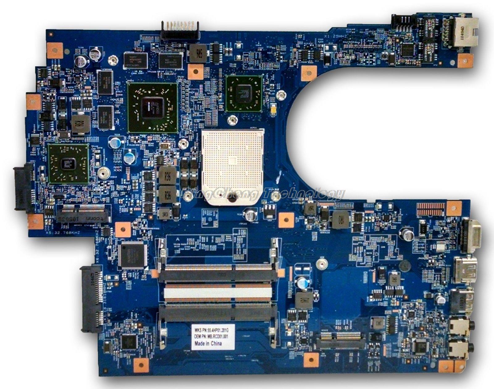 HOLYTIME laptop Motherboard For font b ACER b font 7551 JE70 DN MB 09929 1 48