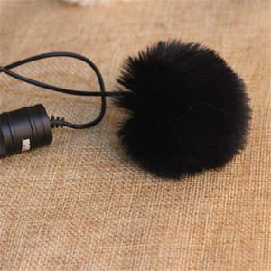 Image 4 - Universal Outdoor Microphone Fur Wind Cover Furry Windscreen Windshield Muff For BOYA BY M1 WM5 WM6 LM10 LM20 GM10 M40D M80D WM8