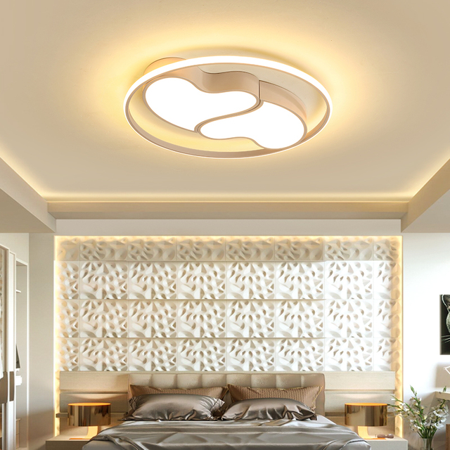 Black White Love Modern Led Restaurant Ceiling Chandelier Bedroom Children S Princess Room Study Lighting
