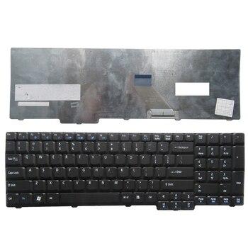 Teclado negro para ordenador portátil Acer, repuesto para Acer Aspire 9400 7000...